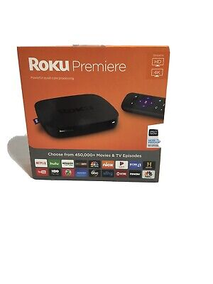 roku premiere 4k streaming media player