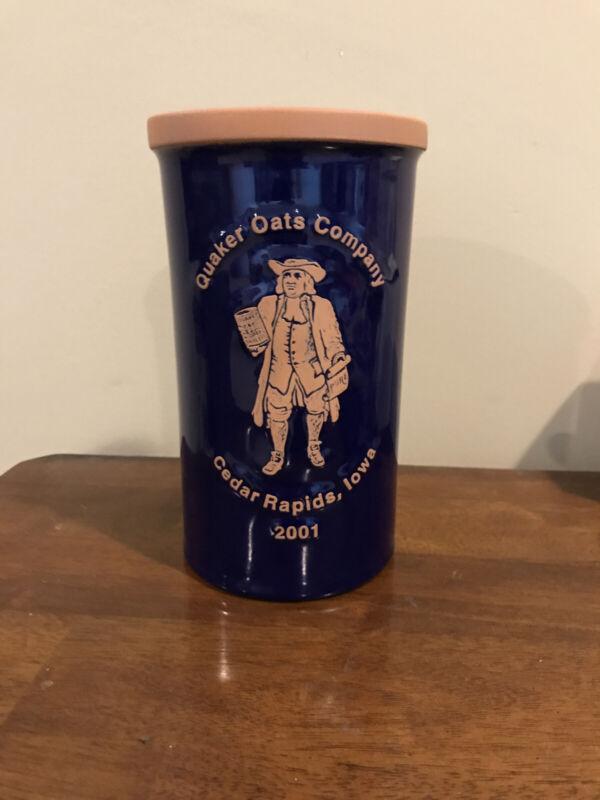 Quaker Oats Terracotta Utensil Holder 1/625