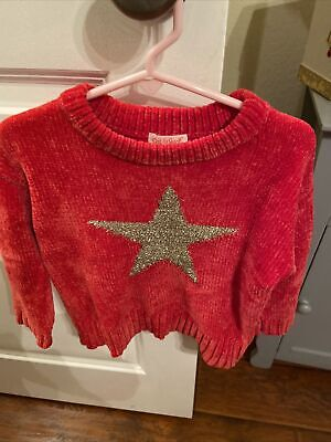 cat and jack baby clothing girls 3t Super Soft Christmas Sweater