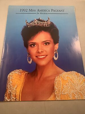 1992 Miss America Pageant In Review Beauty Program