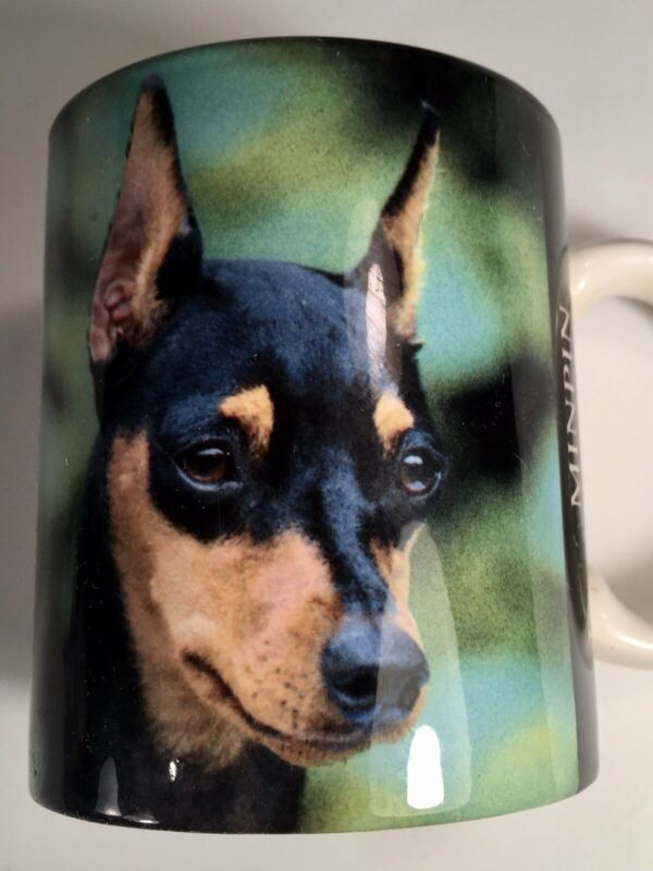 MINIATURE PINSCHER MIN PIN COFFEE TEA MUG CUP MIN PIN GIFT