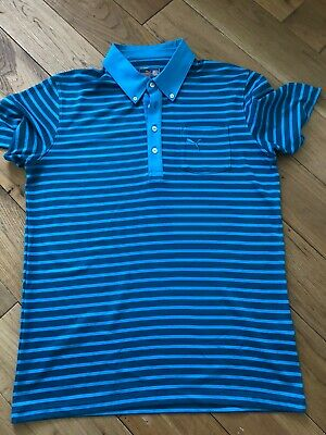 PUMA GOLF POLO SHIRT SIZE MEDIUM