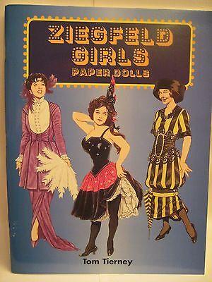 ZIEGFELD GIRLS PAPER DOLLS TOM TIERNEY 2004