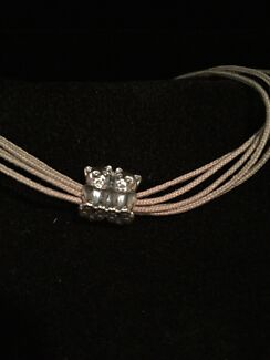 Brand new in box - pandora bracelet with kitten love silver charm cat Quinns Rocks Wanneroo Area Preview