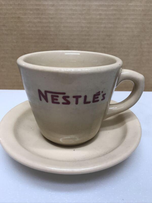 Nestle's Vintage Mug Cup & Saucer Set Inca Ware