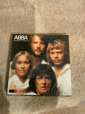 Abba  - Definitive Collection - 2 Cd And Dvd Box Set.  Brand New Sealed.