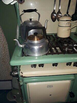 vintage retro  1970's kettle v.w  Camper Van Festival glamping camping