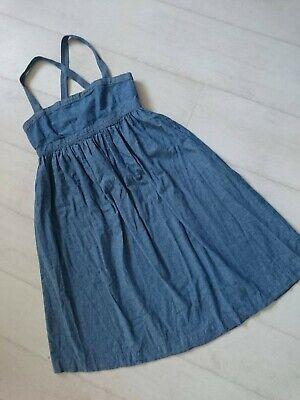 J. CREW women's denim baby doll dress