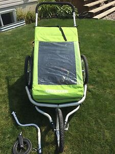 Croozer for two - bike trailer