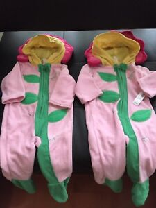 NWT Baby Flower Costumes