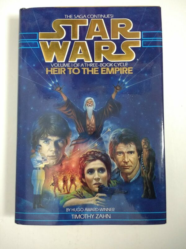 Star Wars Heir To The Empire Hardcover 1st Edition 4th Print Thrawn Trilogy