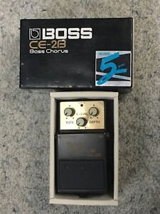 BOSS CE-2B bass chorus effects guitar pedal