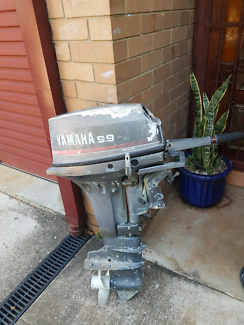 9.9 Yamaha 2 Stroke Long Shaft Outboard FOR SALE