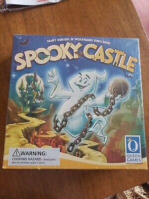 New Spooky Castle Board Game Halloween Party Activity Haunted Ghost Sealed](Kid Halloween Party Activities)