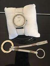 Bering white watch and keyring Coogee Cockburn Area Preview