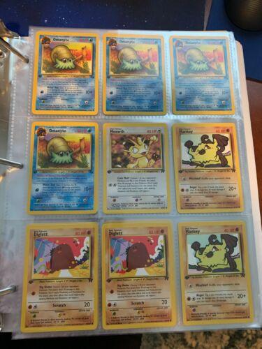 🥇 1st Edition Pokemon Card 🥇 Authentic Pokemon Original Sets Wotc Era