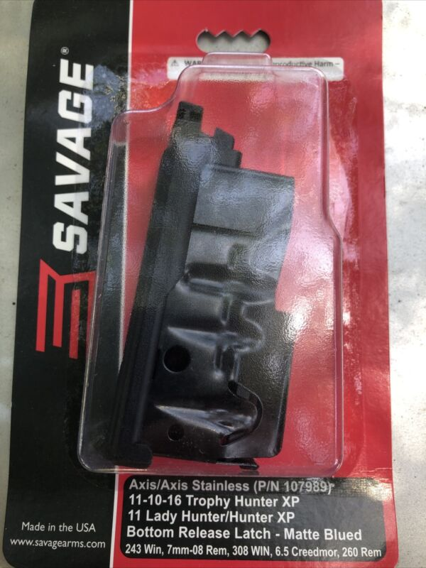 Savage Arms Magazine 55232 Upgraded Version. Axis/Hunter: .308, .243, 6.5, 7mm