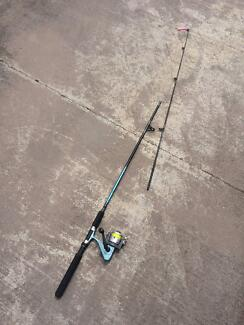 Jarvis Walker Tempest rod and reel + line and lure