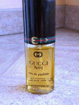 Gucci No. 1 eau de parfum 30ml / 1 oz vintage approx 95% full