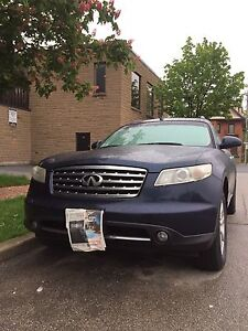 2006 Infiniti fx35, sport version, Fully loaded & reverse camera