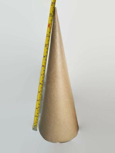 Paper Mache Cones Open Bottom 13.75 X 5 Inches 2 Cones Per Order