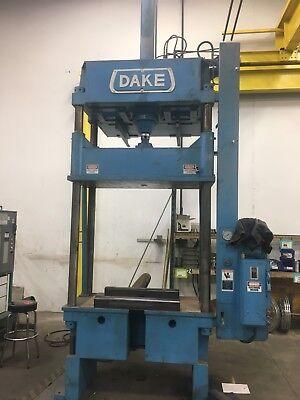 Dake Four-post Hydraulic Press. Model 18-470 . 80 Ton Model 166478