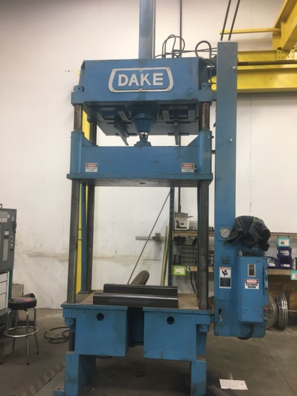 Dake Four-post Hydraulic  Press. Model 18-470 . 80 Ton Model 166478