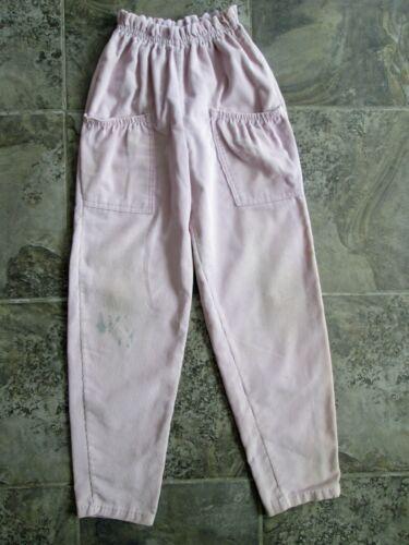 VTG Our Girl Health-Tex Pants Kids Girls 24x26 Purple Tapered High Waist Pockets
