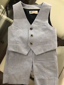 H&M matching vest & dress shorts $25
