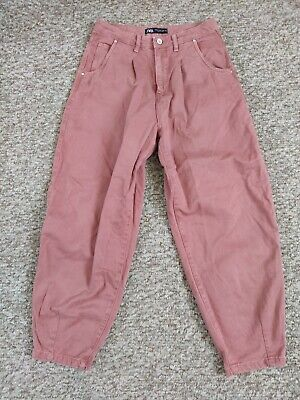 Zara Slouchy Jeans MARSALA *SOLD OUT*