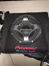 Pioneer sub with amp Dandenong Greater Dandenong Preview