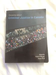 Thinking About Criminal Justice in Canada