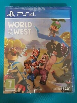 PS4 : world to the west ( neuf sous blister )