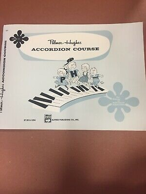 Accordion Beginner Course Book 1 Palmer-Hughes