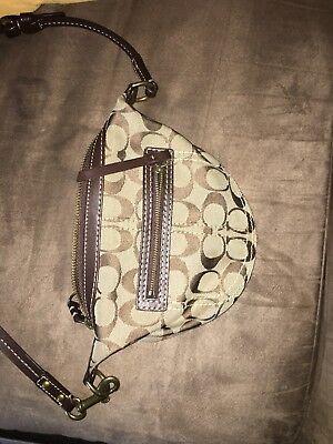 used coach crossbody handbag