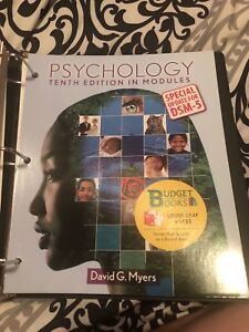 Psychology tenth edition David Myers