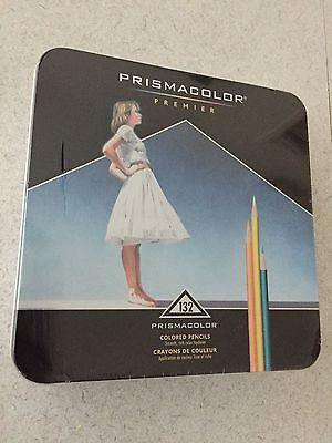 Prismacolor Premier Colored Pencils 132 Count Art New Tin NIB Artist