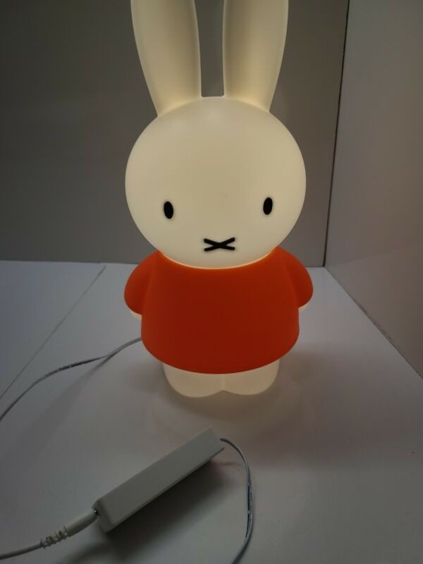Miffy Lamp By Dick Bruna Excellent Condition.