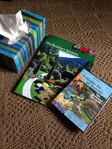 Victoria's Butchart Garden's book and dvd