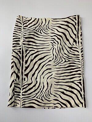 Ladies J.McLaughlin Designer Printed Skirt US:4 Net A Porter Faux Soft Suede