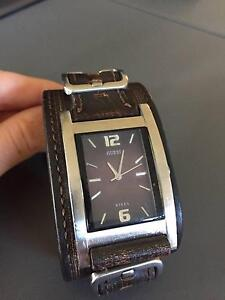 Guess Men Watch - Brown Leather Belrose Warringah Area Preview