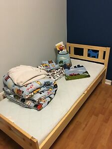Toddler/child's IKEA bed and vehicle themed bedroom set