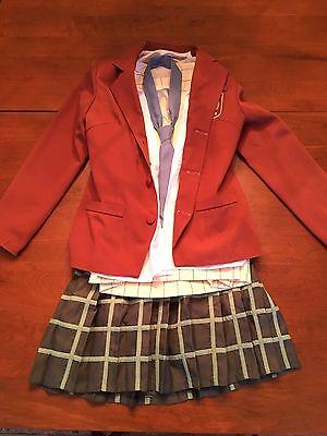 Shizuku Mizutani My Little Monster Cosplay Costume Women's Medium