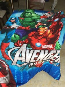 Double Bed set Avengers
