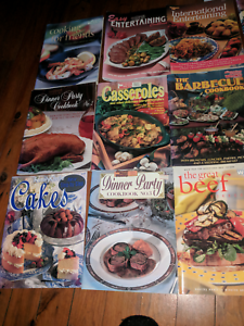 Assorted collection of Women's Weekly Cookbooks.
