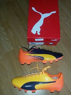 MENS PUMA EVOSPEED FOOTBALL BOOTS SIZE 9.5