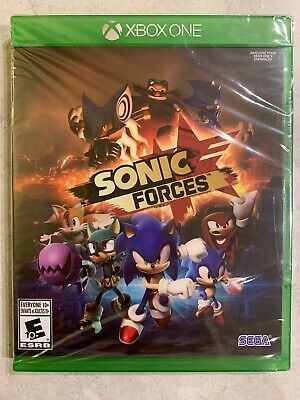 NEW Sega Sonic Forces XBox One Sealed Complete.