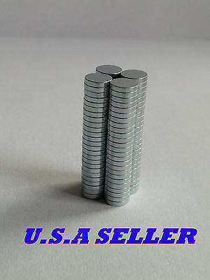 50pcs 5mm X 1mm Round Disc Strong Rare Earth Magnets Neodymium N35 U.s Shipped