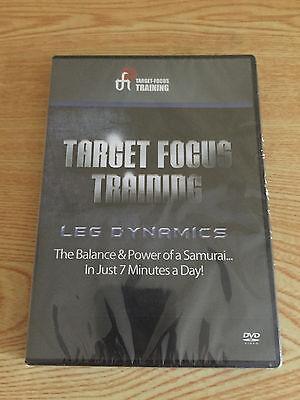 Target Focus Training - Leg Dynamics DVD   NEW