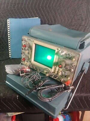 Tektronix 465 100 Mhz Dual-channel Oscilloscope W Probes And Manual